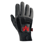 Valeo Full Fingered Anti Vibration Leather Gloves (GAFS)