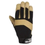 Valeo Full Fingered Leather Mechanic's Glove (GMLL)