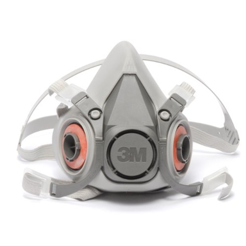 3m 6200 medium respirator face piece 1/2 mask