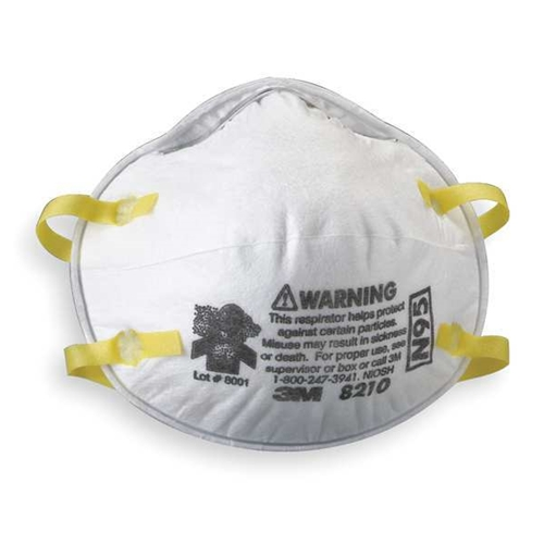Dispoable Respirator 8210 N95 3m