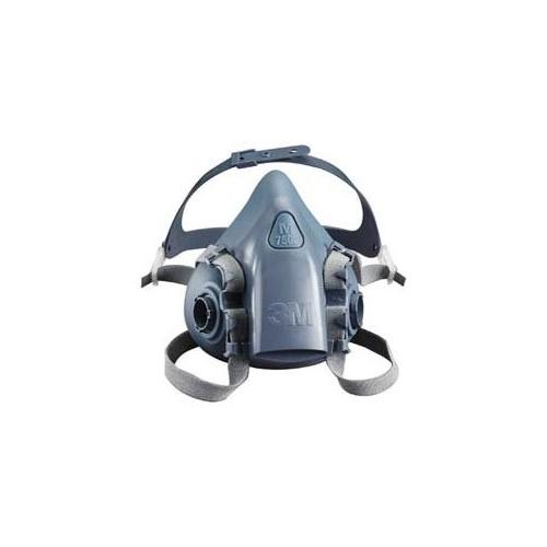 3m 7500 series half mask respirator large