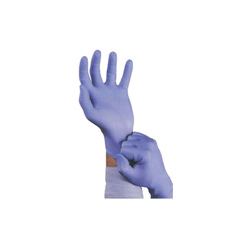 Ansell TNT Blue Disposable Nitrile Gloves Lightly Powdered