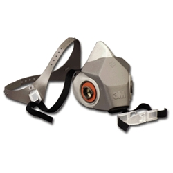 3M 6000 Series Drop Down Half Facepiece Respirator