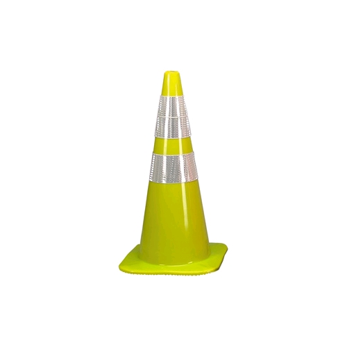 Allsafe SMC 18 inch Fluorescent Lime W Series Traffic Cone
