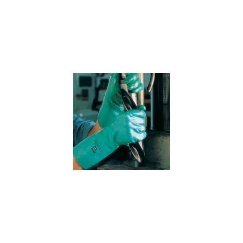 Ansell Sol-Vex 22 Mil, Nitrile Gloves, XLarge