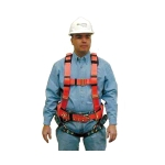 MSA 10043033 Construction Vestype Harness w/Integral Tool Belt