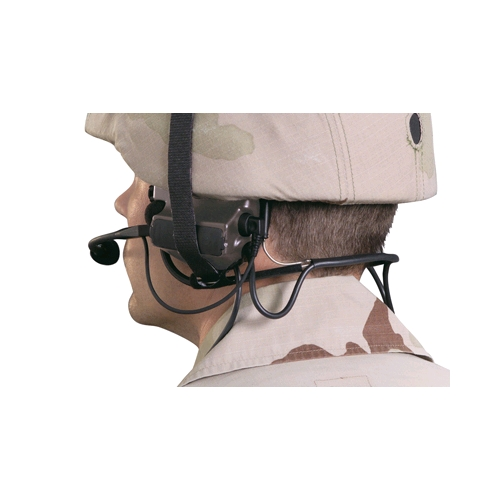 Peltor ComTac II A-C-H Headset, DUAL COMM., PRR Variant, Military Green