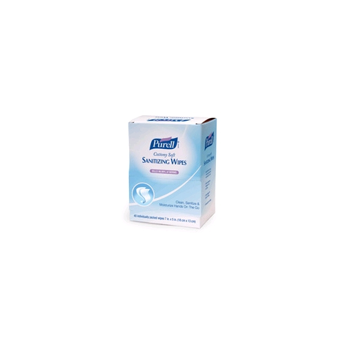 Purell Individually Wrapped Hand Wipes, 40/Box