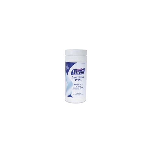 Purell Sanitizing Wipes, 175 Count Cannister/6 Case