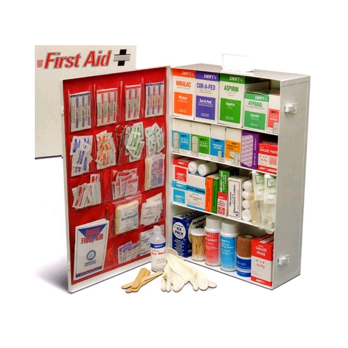 Swift 4 Shelf Large Industrial First Aid Kit w/Liner