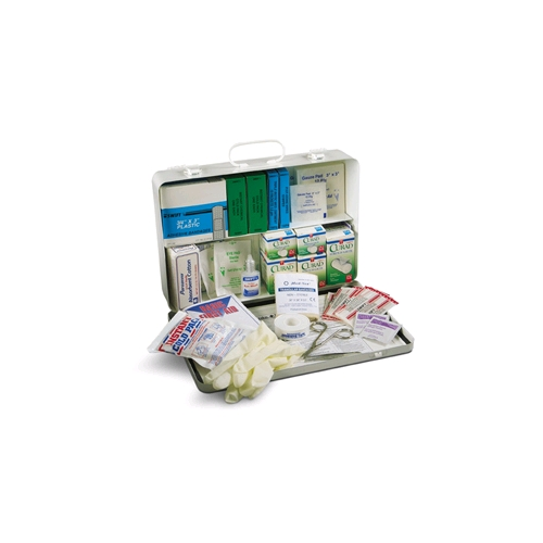 Standard First Aid Kit- Steel Box (50 People)