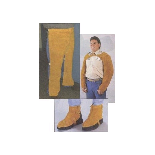 "Tillman Leather Split-Leg Chaps, 24"" x 36"""