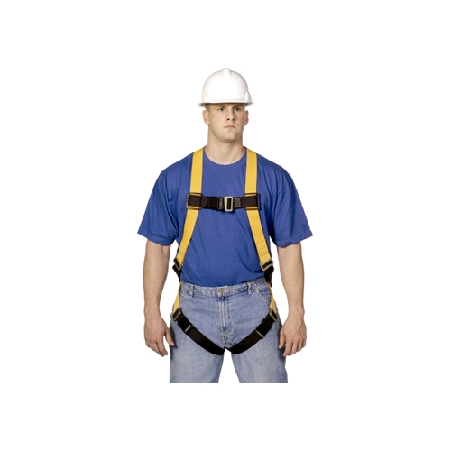 TITAN T4507 Full Body Harness w/Positioning Side D-Rings, Tongue Leg Strap, Non-Stretch