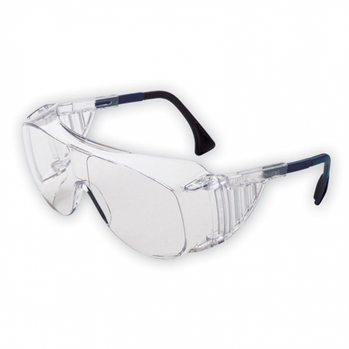Uvex S0112C Ultraspec 2001 OTG, Clear Frame, Clear Uvextreme Lens