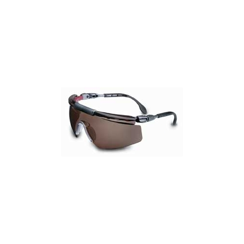 Uvex S0415X FitLogic, Pewter/Wine Frame, SCT-Gray Uvextreme Lens