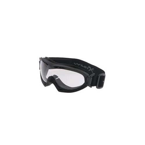 Wiley-X Nerve Goggle - Smoke/Clear/Matte Black Frame