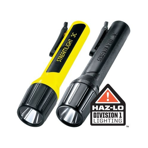 Streamlight Propolymer 3C Luxeon Division 1 Flashlight, Black