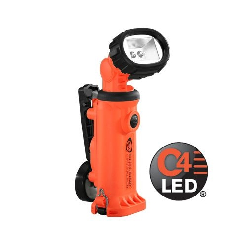 Knucklehead Div 2 Flood with Clip 120V AC Fast Charge - Orange