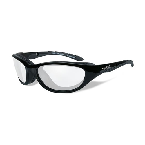 Wiley X AirRage Clear Lens/Gloss Black Frame