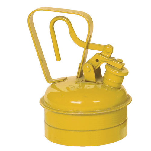 Eagle Type I Safety Can, 1 Qt. Yellow, UI-2-SY