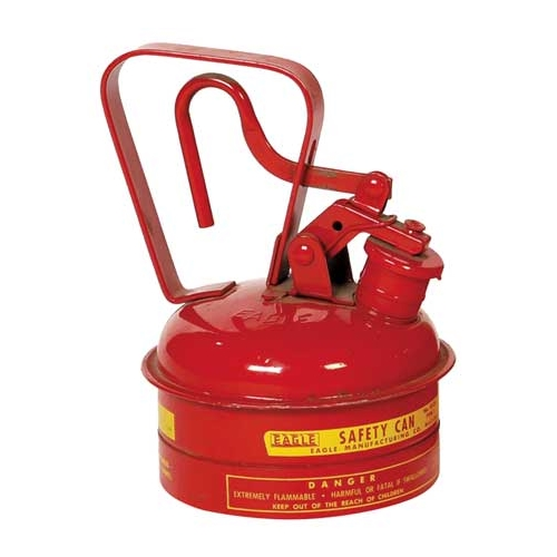Eagle Type I Safety Can, 1 Qt. Red, UI-2-S