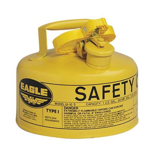 Eagle Type I Safety Can, 1 Gal. Yellow, UI-10-SY