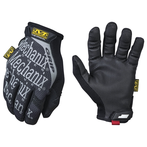 Mechanix Wear Grip Glove, Black/Grey