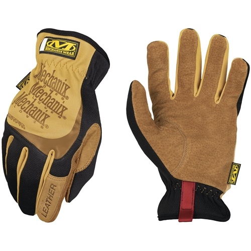Mechanix Wear FastFit Leather Glove- Tan/Black
