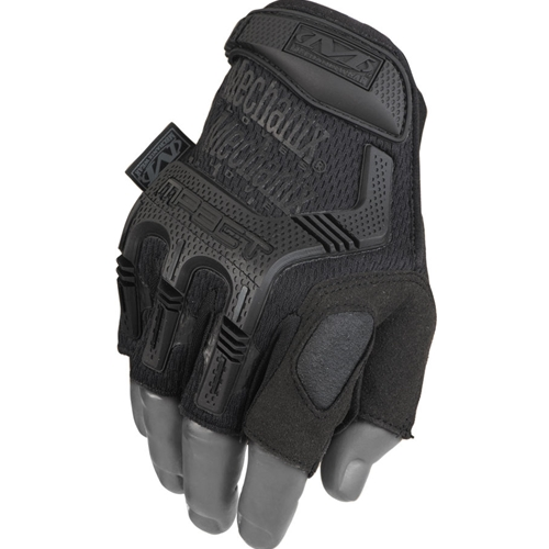 Mechanix Wear Fingerless M-Pact Glove, Covert Black