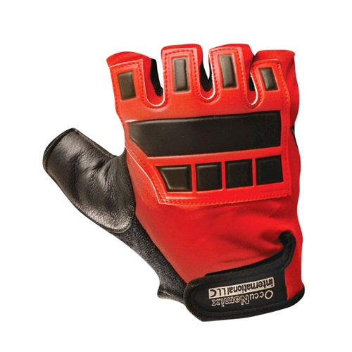 OccuNomix Deluxe Anti-Vibration Gloves w/ Padded Back
