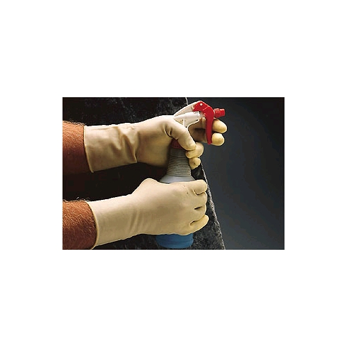 Ansell Technicians Gloves, Neoprene/Latex