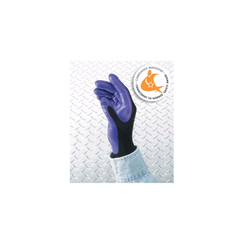Kimberly-Clark Kleenguard Purple Nitrile Foam Coated Gloves