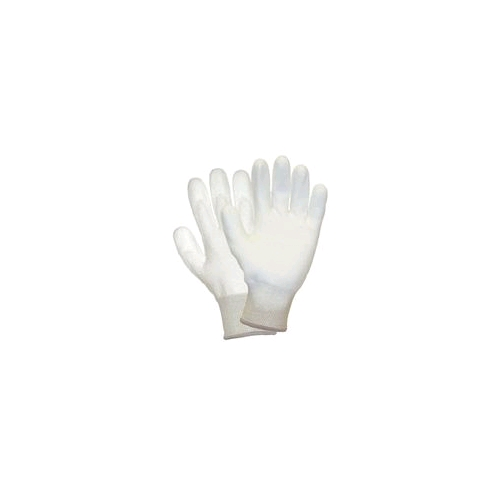 Wells Lamont White Flextech Dyneema Cut Resistant Gloves W/Polyurethane Palm Coating