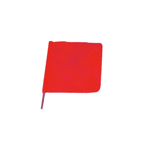"Allsafe SMC 18"" Knitted Vinyl Heavy Duty Warning Flag w/o Dowel"