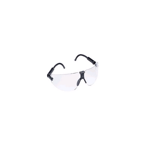 AOSafety Lexa, Medium, Black Frame, Clear Lens
