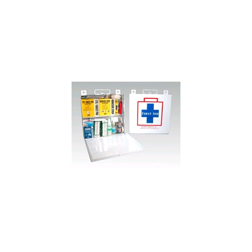 First Aid Kit Metal Cabinet