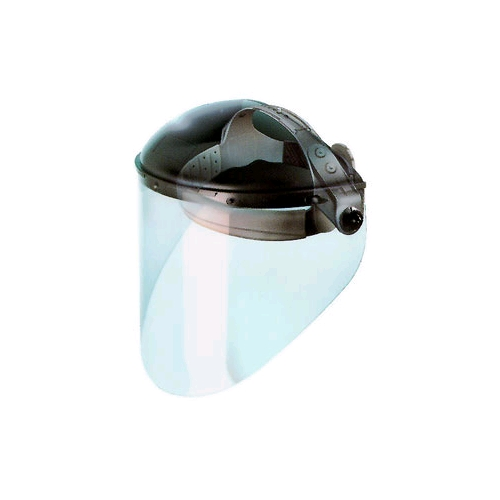 "FibreMetal Faceshield w/4"" Crown Protector, Clear"