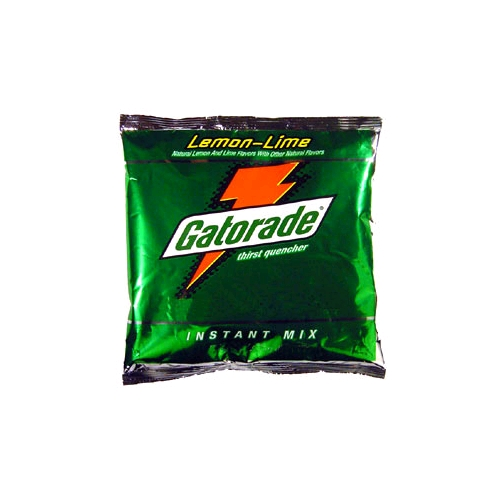 Gatorade 21 Oz. Lemon-Lime Instant Powder Mix, Makes 2.5 Gallons, 32/Case