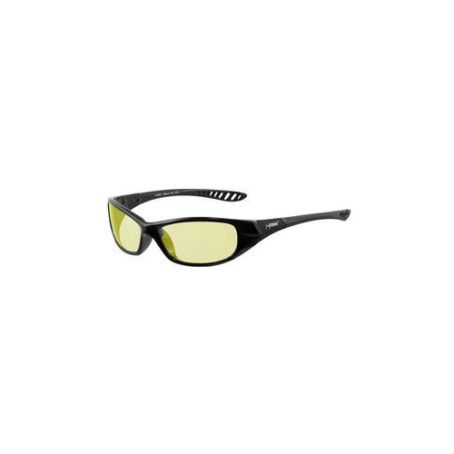 Jackson Hellraiser Safety Glasses, Black Frame, Amber Lens