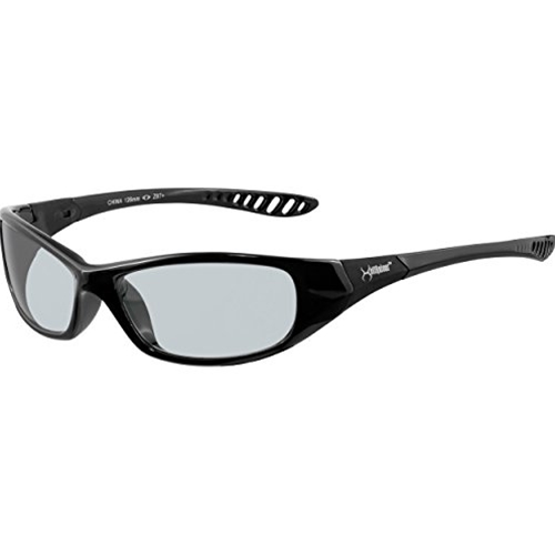 Jackson Hellraiser Safety Glasses, Black Frame, Clear Lens