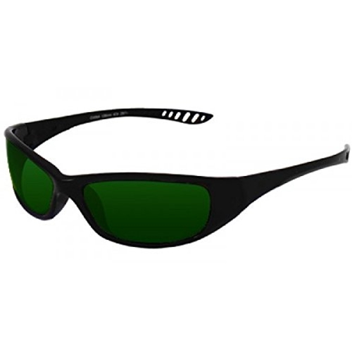 Jackson Hellraiser Safety Glasses, Black Frame, IR 3.0 Lens