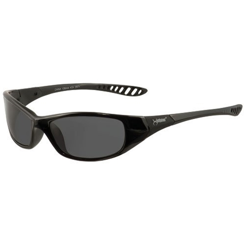 Jackson Hellraiser Safety Glasses, Black Frame, Smoke Lens