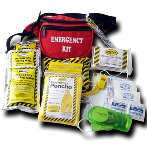 Emergency One Day (12 Piece) Fanny Pack Kit