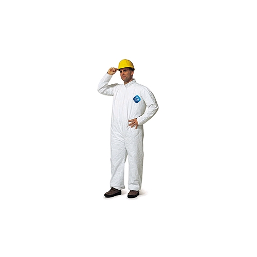 DuPont Tyvek Coverall, Zipper Front with Open Wrist and Ankles