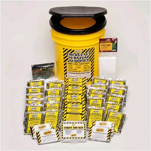 Economy Emergency Honey Bucket Kit