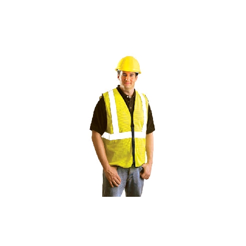 OccuLux ANSI Class 2 Economy Cool Mesh Vest with Zipper