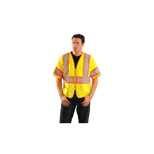 OccuLux ANSI Class 3 Two-Tone Half-Sleeve Mesh Vest