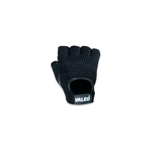 Valeo Half Finger Anti-Vibration Mesh Back Leather Gloves (GMAS)