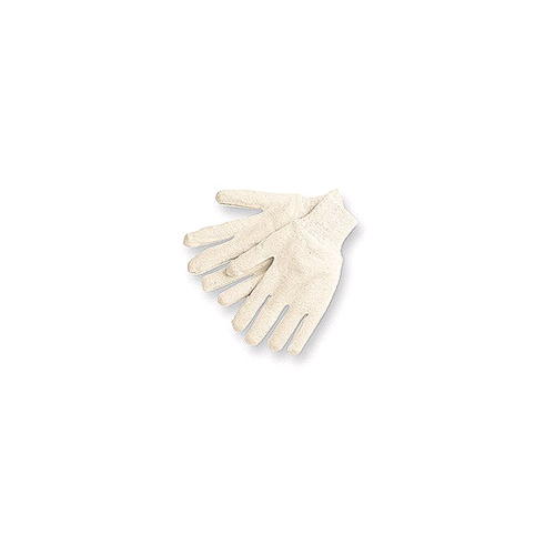 Memphis Cotton Jersey Gloves, Reversible Jersey, Natural Color, Mens