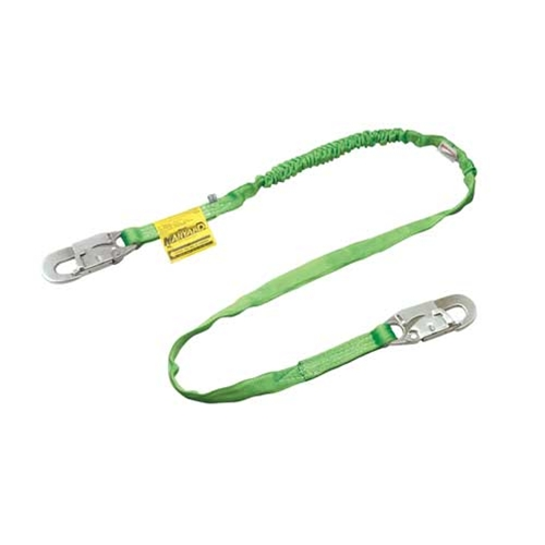 Miller 216TWLS-Z7/6FTGNGN Lanyard, 6 Ft, One Leg, 3/4 Inch Hook, Green